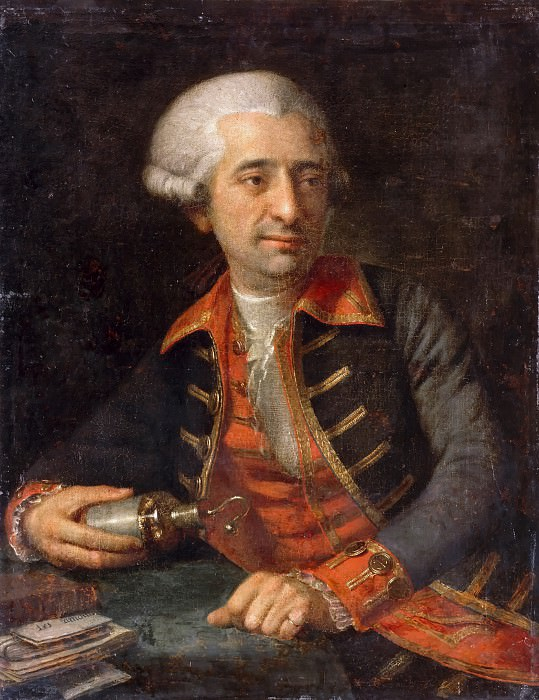 François Louis Brossard de Beaulieu -- Antoine-Laurent Lavoisier. Château de Versailles