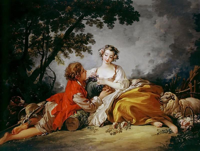 La Marotte. Francois Boucher