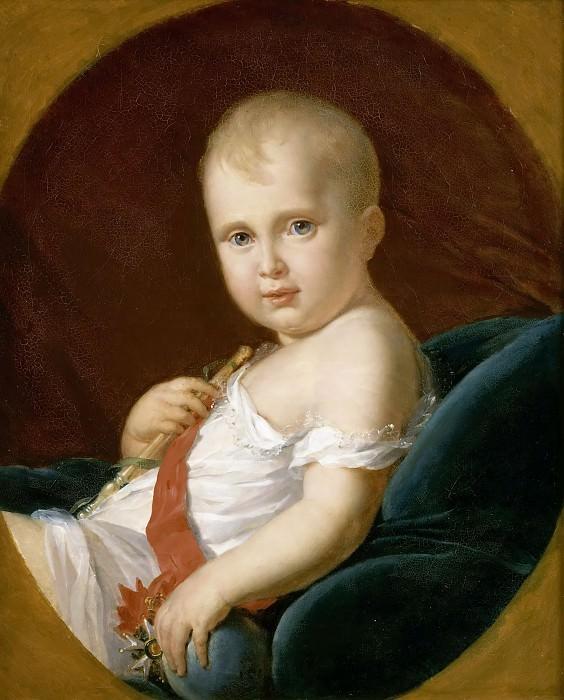 Gérard, François -- Napoléon-Charles-François-Joseph Bonaparte, duc de Reichstadt, prince impérial, roi de Rome. Château de Versailles