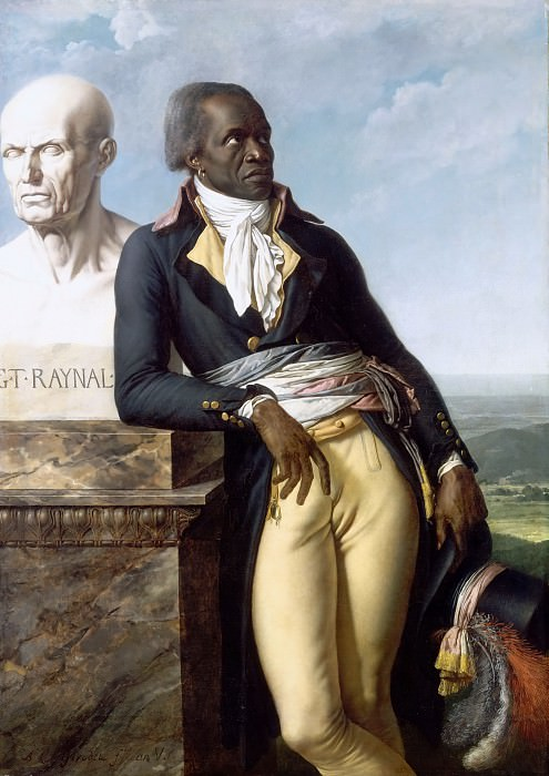 Anne-Louis Girodet de Roucy-Trioson -- Portrait of Citizen Belley (Jean-Baptiste Belley, député de Saint-Dominique à la Convention). Château de Versailles