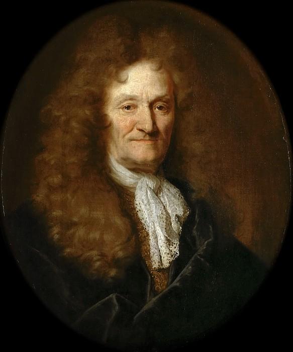 Nicolas de Largillière -- Jean de la Fontaine. Château de Versailles