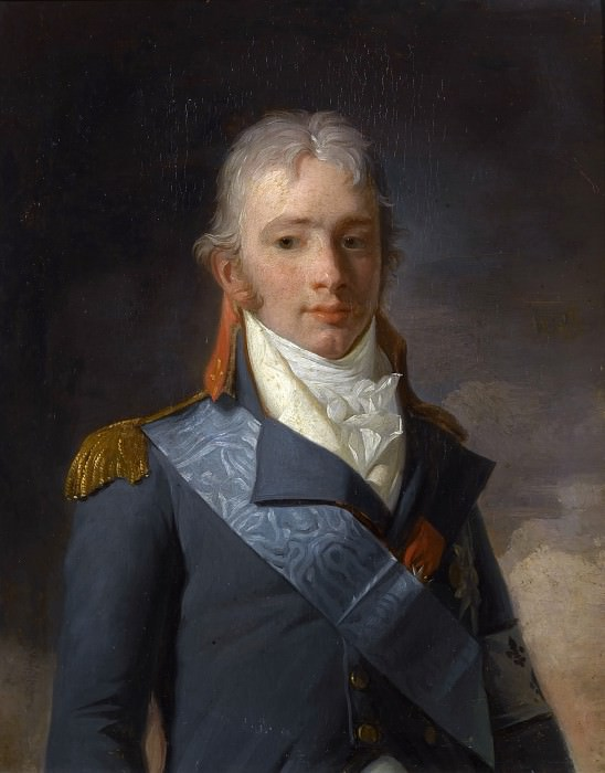 Danloux, Henri-Pierre -- Charles-Ferdinand d'Artois, duc de Berry. Château de Versailles