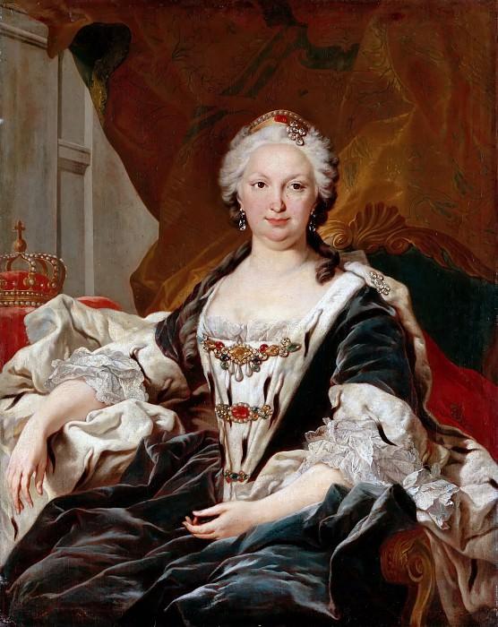 Louis Michel van Loo -- Elisabeth Farnese, Queen of Spain (1692-1766). Château de Versailles