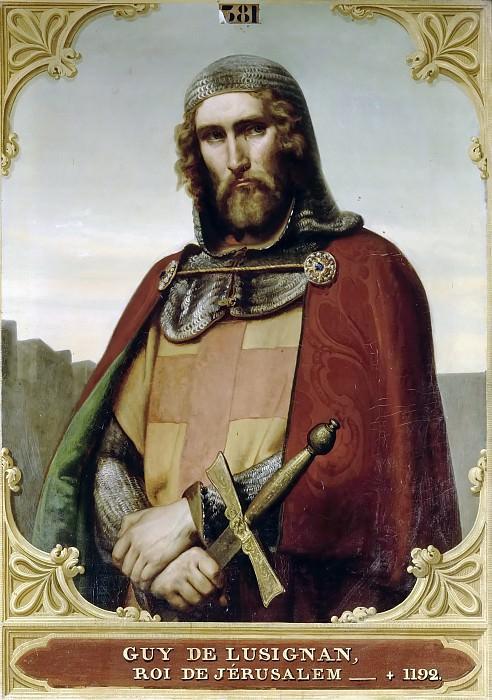 François Eduard Picot -- Guy de Lusignan, King of Jerusalem and Cyprus (1129-1194). Château de Versailles