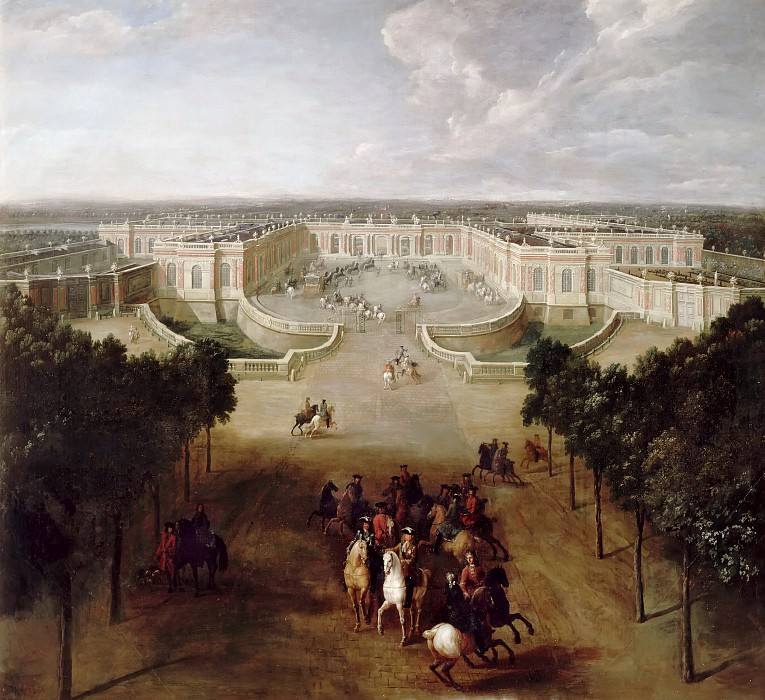 Pierre-Denis Martin -- View of the Grand Trianon from the Avenue. Château de Versailles