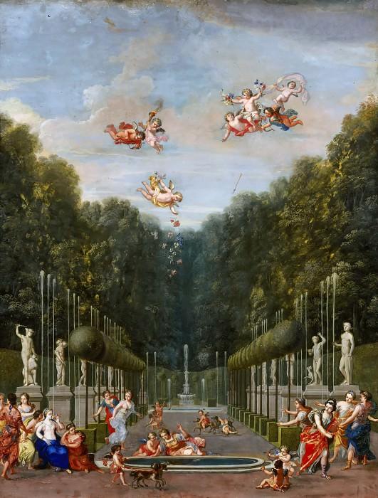 Jean Joubert -- Galerie des Antiques (Galerie d'Eau). Château de Versailles