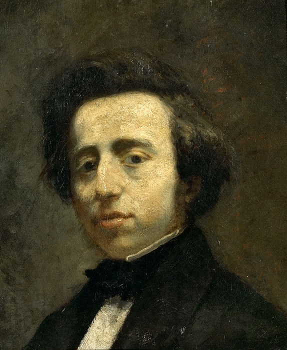 Attributed to Thomas Couture -- Frederic Chopin (1810-1849). Château de Versailles
