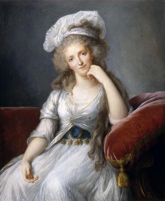 Vigée-Lebrun, Elisabeth-Louise -- Louise-Marie-Adélaïde de Bourbon-Penthièvre, duchesse d'Orléans. Château de Versailles