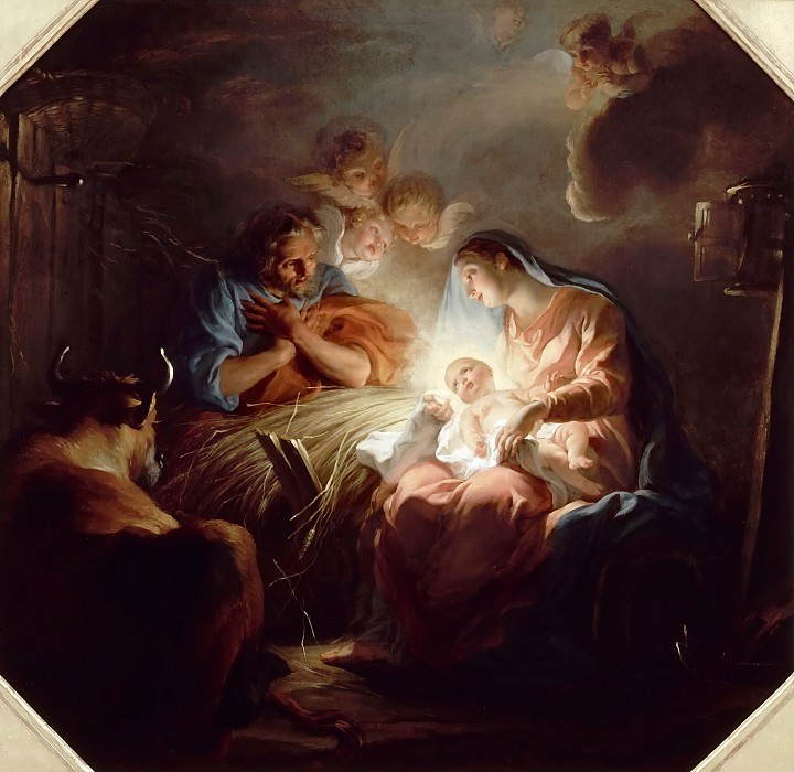 Noël Nicolas Coypel -- Nativity. Château de Versailles