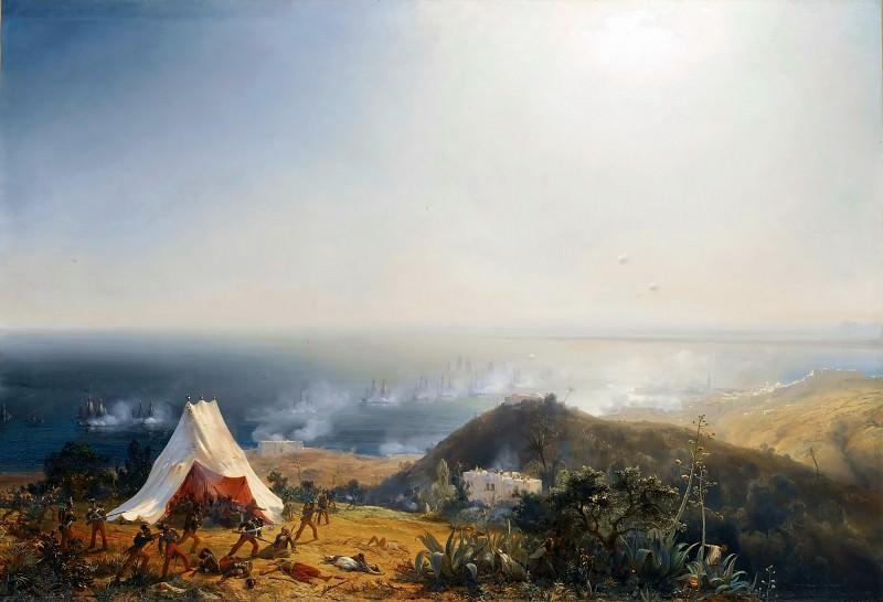 Théodore Gudin -- Attack of Algiers by Sea, 29 June 1830. Château de Versailles