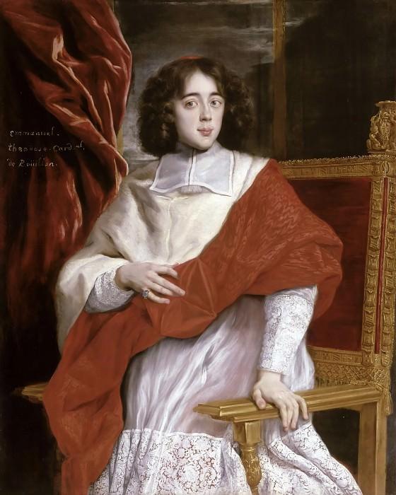 Giovanni Battista Gaulli, Bachichcho -- Emmanuel-Théodose de la Tour d'Auvergne, cardinal de Bouillon (1643-1715). Château de Versailles