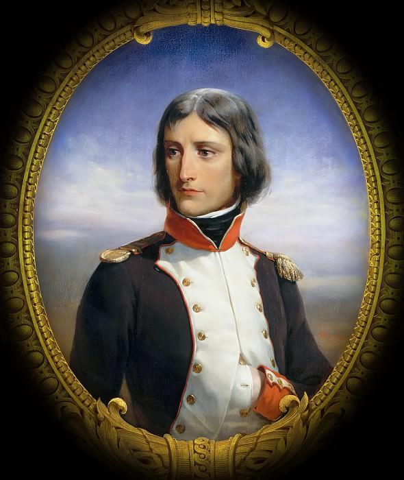 Félix Henri Emmanuel Philippoteaux -- Napoleon Bonaparte, Lieutenant-Colonel of the 1st Battalion of Corsica in 1792 (1769-1821). Château de Versailles