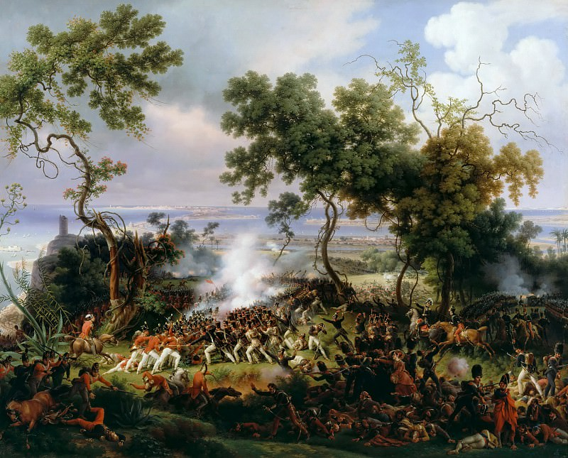Louis Francois Lejeune -- Battle of Chiclana, 5 March 1811. Château de Versailles