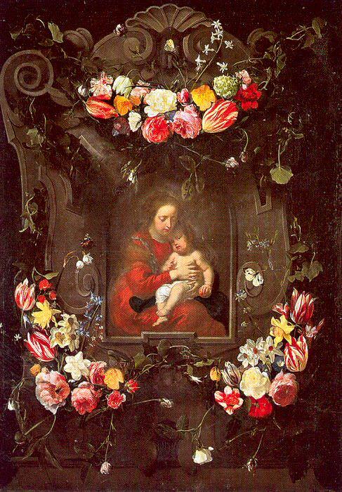 Quellinus, Erasmus (Flemish, 1607-1678). Flemish painters