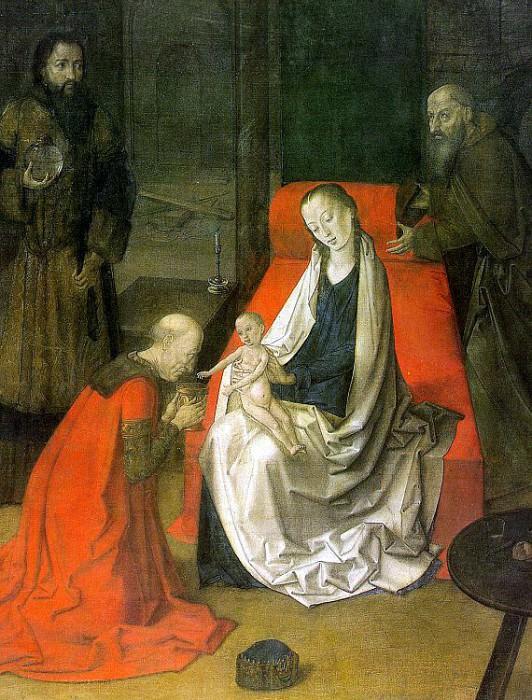Ghent, Joos van (Flemish, active approx. 1460-1480). Flemish painters
