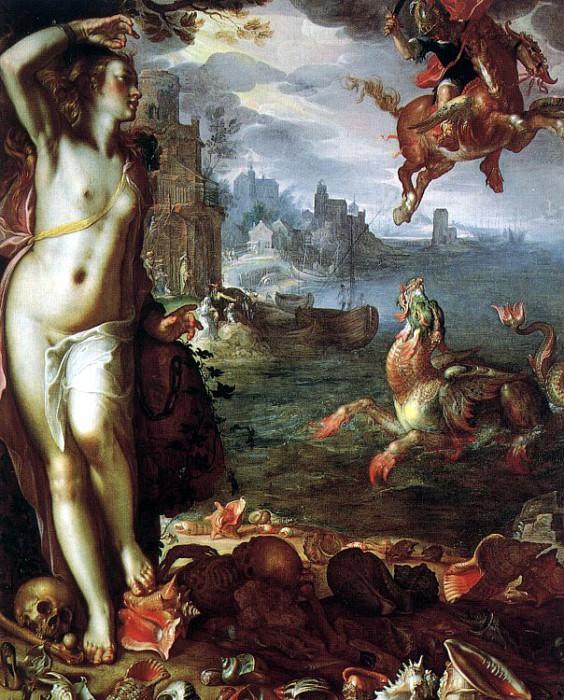 Wtewael, Joachim (Flemish, 1566-1638). Фламандские художники