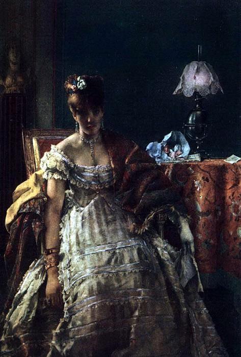 Stevens, Alfred (Flemish, 1823-1906). Flemish painters