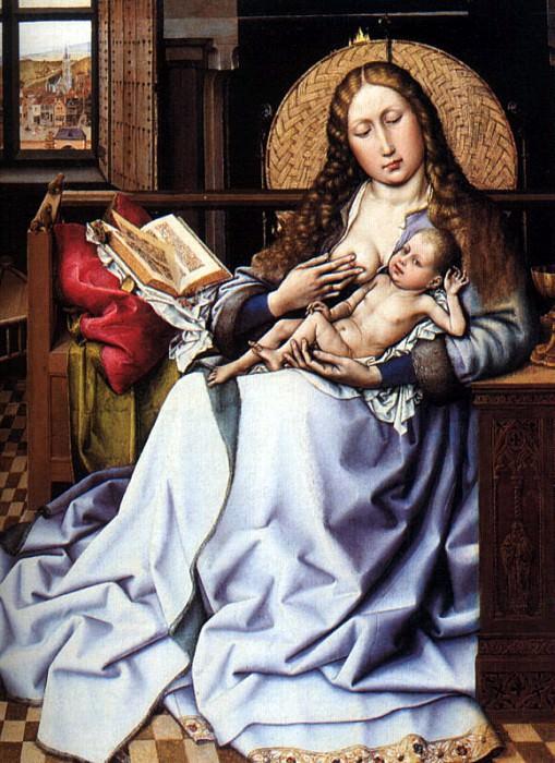 Кампен, Робер Мадонна с Младенцем. Фламандские художники