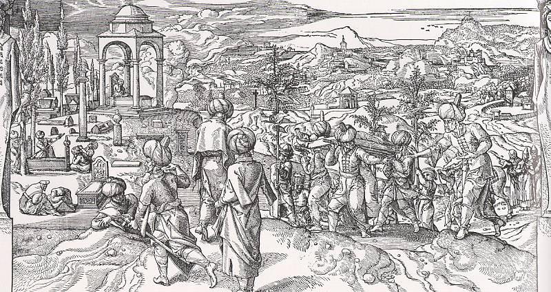 Coeck, Pieter, Follower of (Flemish, 1502-1550). Flemish painters