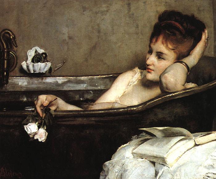 Stevens, Alfred (Flemish, 1823-1906) 1. Flemish painters