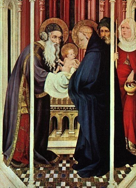 Broederlam, Melchoir (Flemish, active 1381-1409). Flemish painters