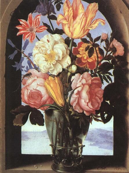 Bosschaert, Ambrosius the Elder (Flemish, approx. 1573-1621) 3. Flemish painters