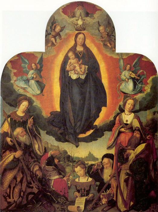 Provost, Jan (Flemish, 1465-1529) 1. Flemish painters