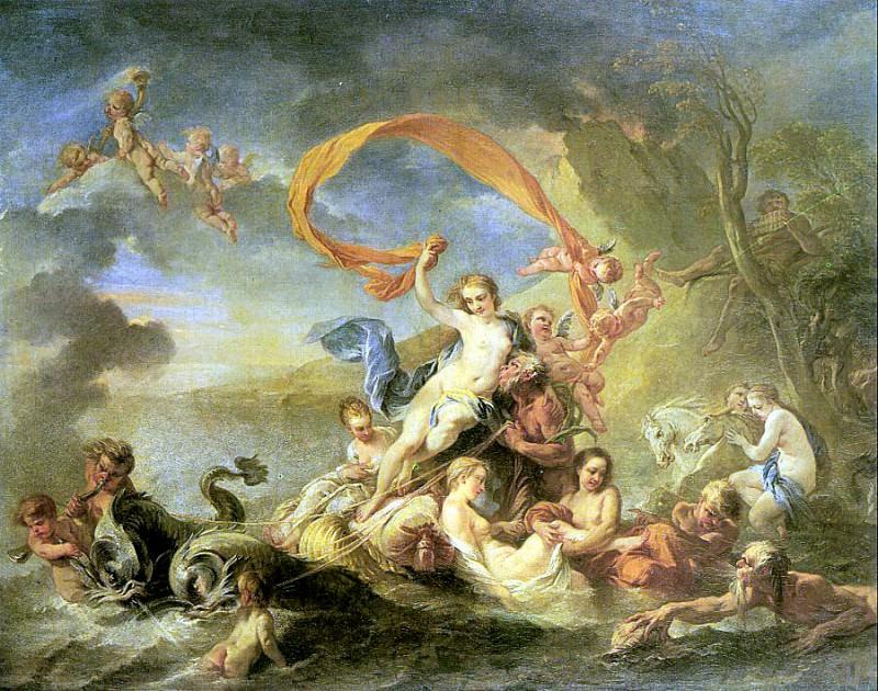 Loo, Jean Baptiste van (Flemish active in France, 1684-1745). Фламандские художники