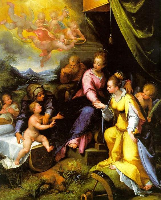 Calvaert, Denys (Flemish, 1540-1619). Flemish painters