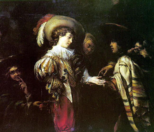 Cossiers, Jan (Flemish, 1600-1671). Flemish painters