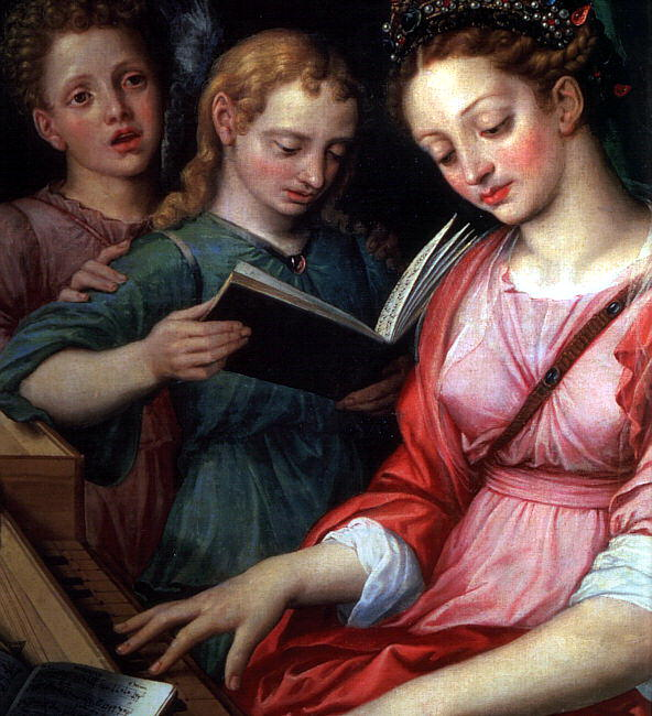 Coxcie, Michel van (Flemish, 1499-1592). Flemish painters