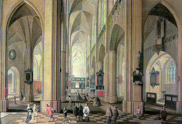 Neeffs, Peter the Elder (Flemish, Approx. 1578-1661) 1. Flemish painters