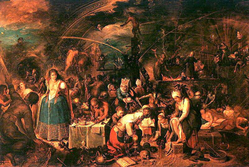 ancken, Frans II (Flemish, 1581-1642). Flemish painters