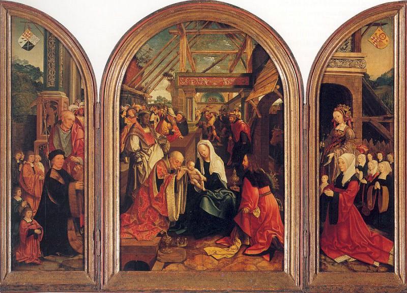 Oostsanen, Jacob Cornelisz van (Flemish, 1472-1533). Flemish painters
