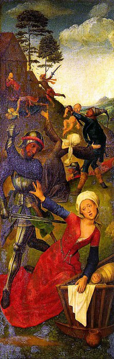 Гус, Хуго ван дер, Follower of (Flemish, 1400s) 1. Фламандские художники