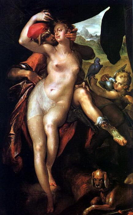 Spranger, Bartholomeus (Flemish, 1546-1611). Flemish painters