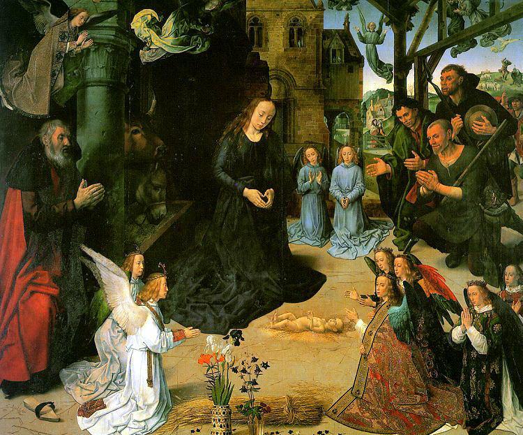Гус, Хуго ван дер (Flemish, 1440-1482) 2. Фламандские художники