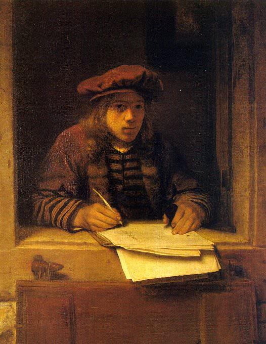 Hoogstraten, Samuel Dircksz van (Flemish, 1627-1678). Flemish painters