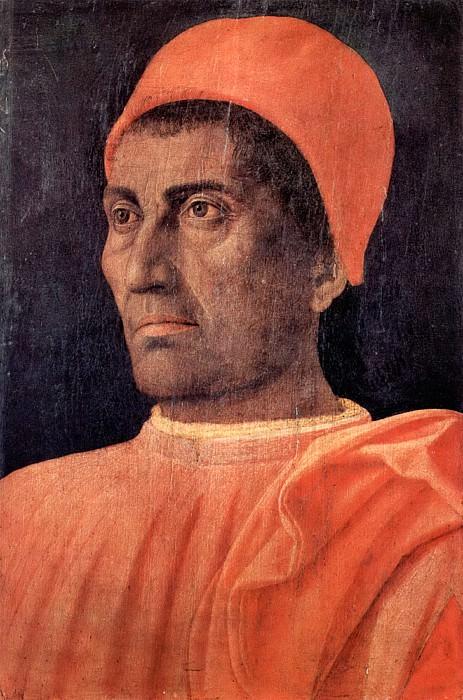 Andrea Mantegna Portrait of Carlo de Medici. Uffizi