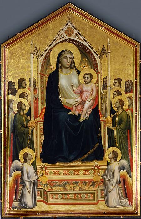 Giotto - The Ognissanti Madonna. Uffizi