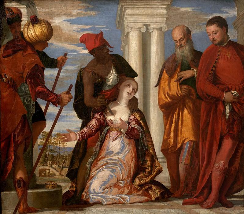 Paolo Veronese - Martyrdom of Saint Justina. Uffizi