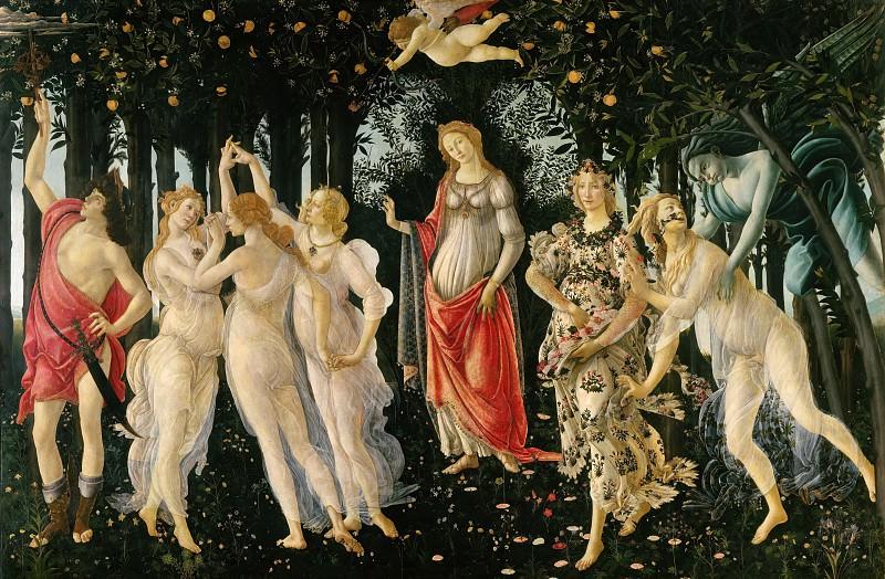 Spring (Primavera). Alessandro Botticelli