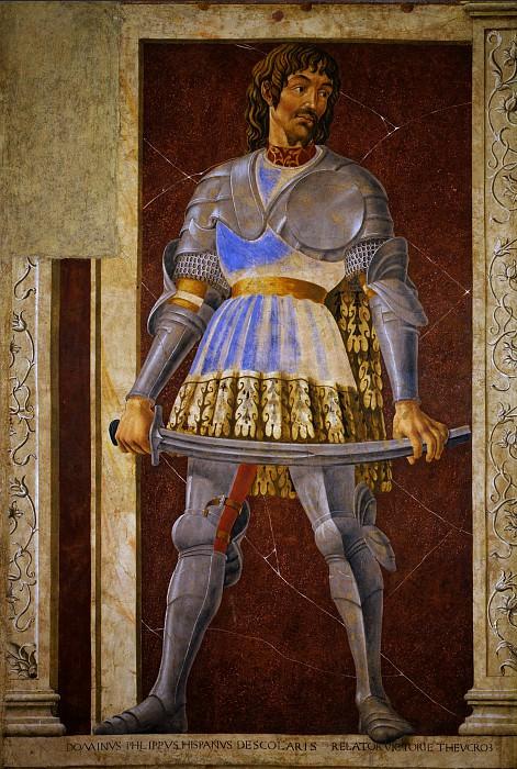 Andrea del Castagno - Pippo Spano. Uffizi