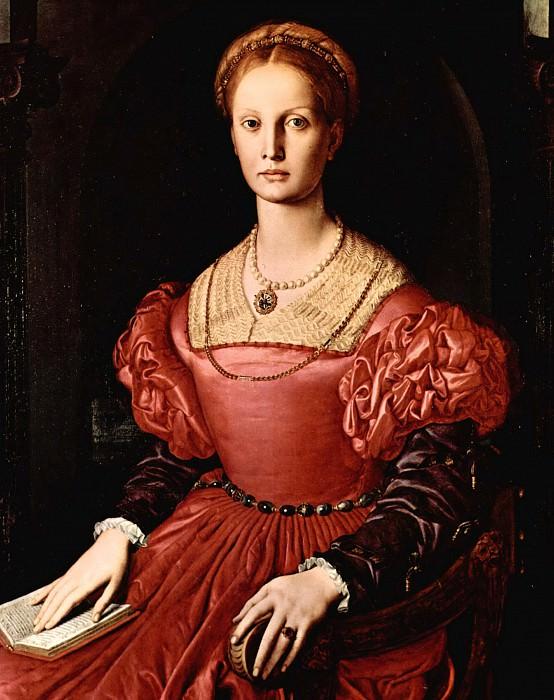 Angelo Bronzino - Portrait of Lucrezia Panciatichi. Uffizi