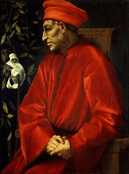 Pontormo - Portrait of Cosimo de Medici the Elder. Uffizi
