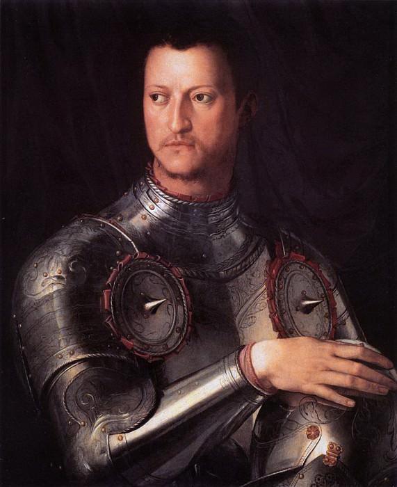 Angelo Bronzino - Portrait of Cosimo I de Medici. Uffizi