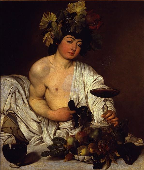 Caravaggio - The adolescent Bacchus. Uffizi