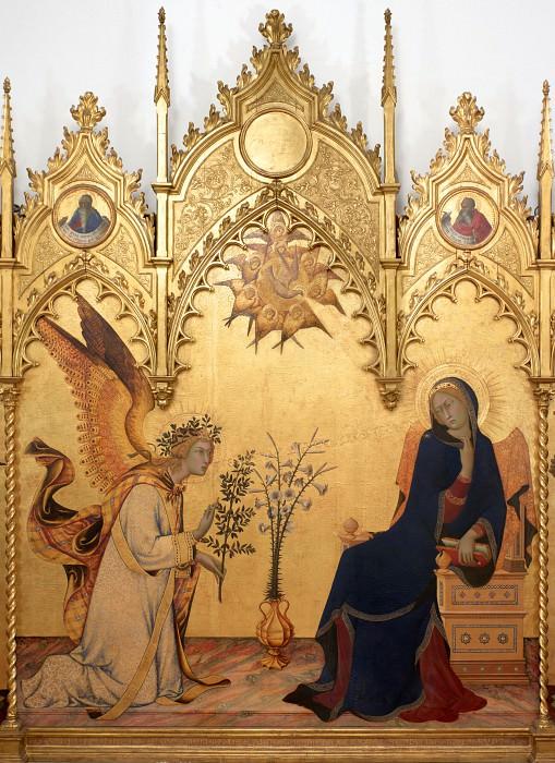 Simone Martini e Lippo Memmi - Annunciation. Uffizi