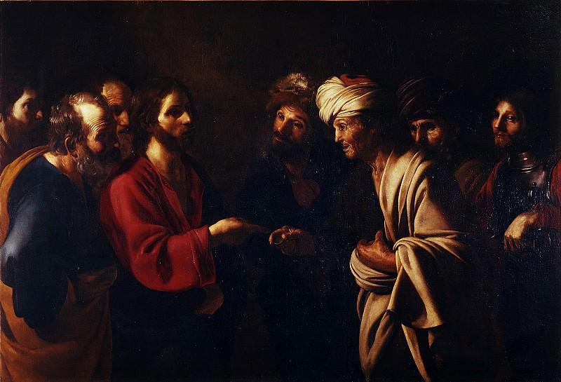 Bartolomeo Manfredi - Tribute to Caesar. Uffizi
