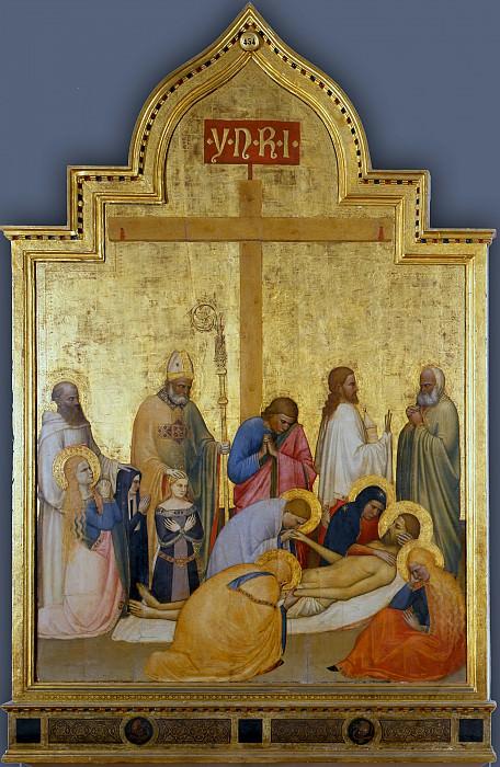 Giottino - Saint Remigio Pietà. Uffizi
